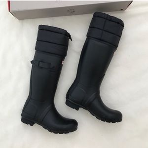 Hunter Original Tall quilted cuff rain boots